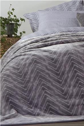 "NEF-NEF κουβέρτα βελουτέ υπέρδιπλη ""Visual""  240 x 220 cm"