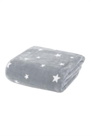 "NEF-NEF βρεφική κουβέρτα κούνιας με all-over print stars ""Stellar"" 100 x 140 cm"