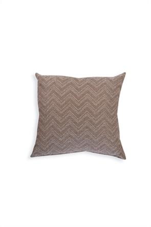 """NEF-NEF διακοσμητικό μαξιλάρι με γεωμετρικά κεντήματα """"Felix 21"""" 50 x 50 cm"""