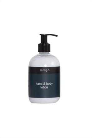 """NEF-NEF ενυδατική κρέμα χεριών και σώματος """"Indigo"""" 300 ml"""