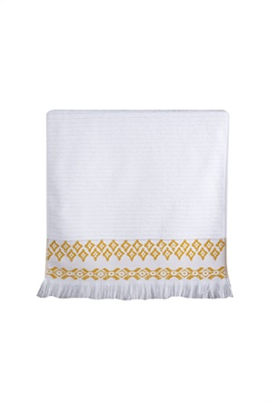 "NEF-NEF πετσέτα χεριών με jacquard σχέδια και κρόσσια ""Arabi"" 30 x 50 cm"