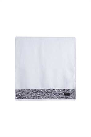 "NEF-NEF πετσέτα προσώπου με γεωμετρικά σχέδια ""Aston"" 50 x 100 cm"