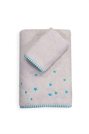 NEF-NEF σετ βρεφικές πετσέτες με κεντημένες λεπτομέρειες ''Coloud dream'' (2 τεμάχια)