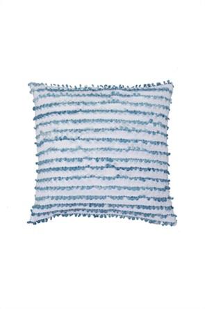 NEF-NEF διακοσμητικό μαξιλάρι με ανάγλυφο σχέδιο ''Gustav'' 45 x 45 cm