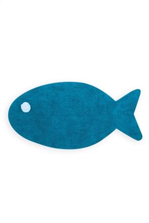 NEF-NEF χαλάκι μπάνιου σε σχήμα ψαριού ''Fishes Way'' 70 x 140 cm