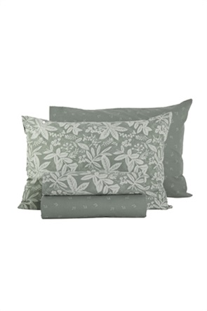 "NEF-NEF σετ σεντόνια μονά με floral print ""Matis"" (3 τεμάχια)"
