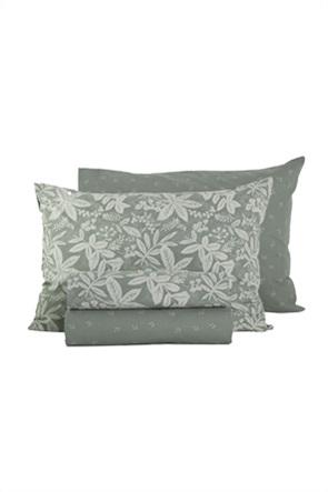 "NEF-NEF σετ σεντόνια υπέρδιπλα με floral print ""Matis"" (4 τεμάχια)"