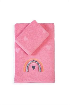 "NEF-NEF σετ παιδικές πετσέτες ""Rainbow Girls"" (2 τεμάχια)"