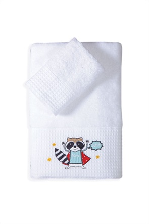 "NEF-NEF σετ παιδικές πετσέτες ""Super Animals"" (2 τεμάχια)"