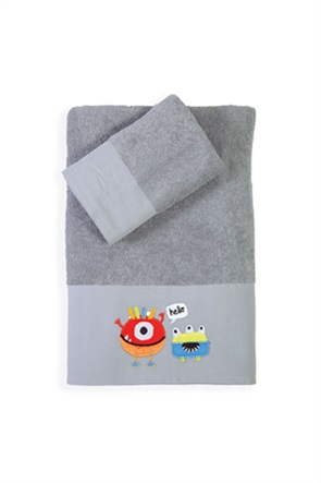 "NEF-NEF σετ παιδικές πετσέτες ""Hello Monsters"" (2 τεμάχια)"