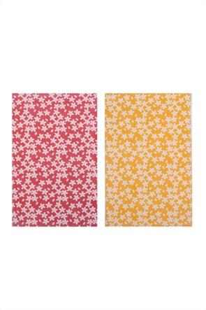 """NEF-NEF ποτηρόπανο με floral print """"Blossom""""  40 x 60 cm"""
