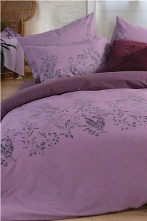 "NEF-NEF σετ σεντόνια  μονά  με floral print ""Salvia"" ( 3 τεμάχια)"