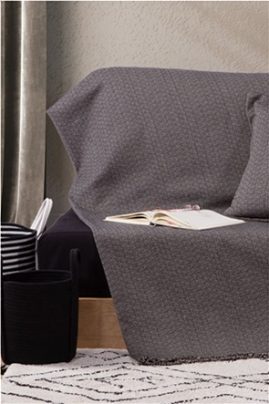 "NEF-NEF ριχτάρι διθέσιου καναπέ με κρόσσια ""Micron"" 170 x 250 cm"