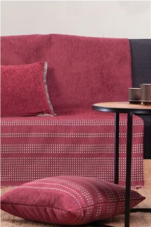 """NEF-NEF ριχτάρι τριθέσιου καναπέ με κυψελωτό σχέδιο """"Keneth"""" 170 x 300 cm"""