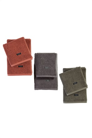 "NEF-NEF πετσέτα προσώπου με ριγέ σχέδιο ""Guess"" 50 x 100 cm"