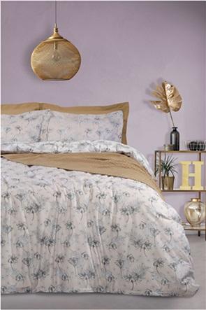 "Das home σετ υπέρδιπλα σεντόνια με floral print ""4740 Best"" (4 τεμάχια)"