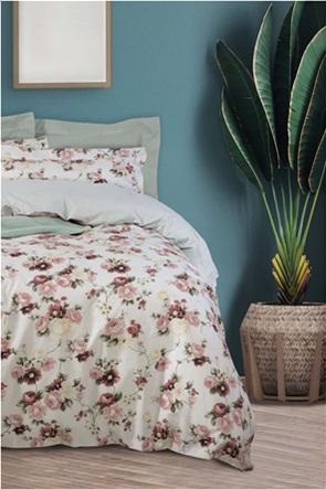 "Das home σετ υπέρδιπλα σεντόνια με floral print ""Best 4750"" (4 τεμάχια)"