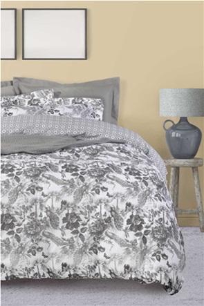 "Das home σετ υπέρδιπλα σεντόνια με floral print ""Best 4752"" (4 τεμάχια)"
