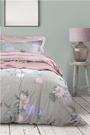 "Das home σετ υπέρδιπλα σεντόνια με floral print ""Prestige 1637"" (4 τεμάχια)"