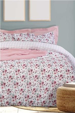 "Das home σετ μονά σεντόνια με floral print ""Happy 9512"" (3 τεμάχια)"