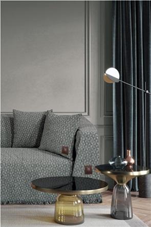 "Greenwich Polo Club ριχτάρι τριθέσιου καναπέ με geometrical print ""Jacquard Essential 2767"" 180 x 300 cm"