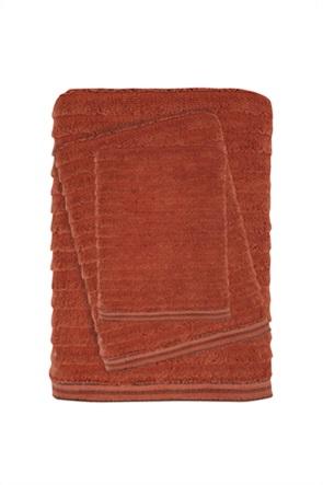 "Das home σετ πετσέτες μπάνιου με ριγέ σχέδιο ""Best 0582"" (3 τεμάχια)"