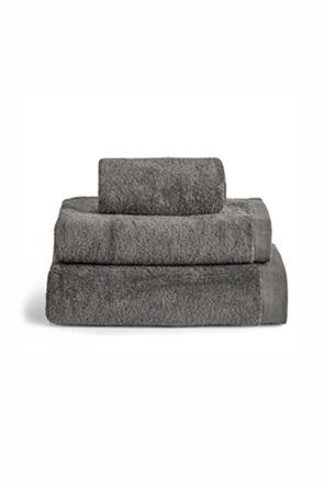 """Kentia πετσέτα προσώπου """"Brand Grey"""" 50 x 100 cm"""