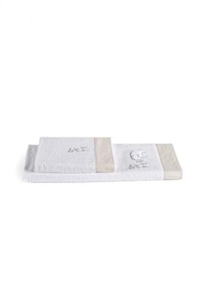 "Kentia σετ παιδικές πετσέτες με διακοσμητικά κέντηματα ""Bambino 12"" (2 τεμάχια)"