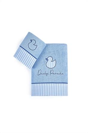"""Kentia σετ παιδικές πετσέτες με κέντημα παπάκι """"Ducky"""" (2 τεμάχια)"""