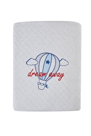 "Kentia βρεφική κουβέρτα κούνιας ""Airballon"" 120 x 140 cm"