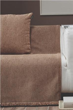 "Kentia ριχτάρι διθέσιου καναπέ με κρόσσια ""Ribbon 18"" 180 x 250 cm"
