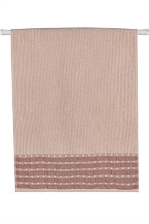 "Kentia πετσέτα χεριών με μικροσχέδιο πουά ""Lollipop 18"" 30 x 50 cm"
