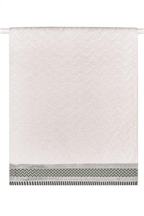 "Kentia πετσέτα προσώπου με γεωμετρικό σχέδιο ""Forza 12"" 50 x 90 cm"