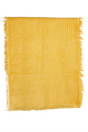 """Kentia πετσέτα χεριών με ανάγλυφο ριγέ σχέδιο """"Harley 03"""" 30 x 50 cm"""