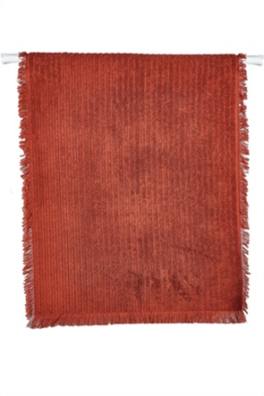 """Kentia πετσέτα χεριών με ανάγλυφο ριγέ σχέδιο """"Harley 06"""" 30 x 50 cm"""
