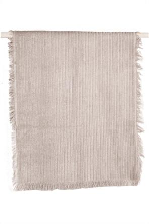 """Kentia πετσέτα σώματος με ανάγλυφο ριγέ σχέδιο """"Harley 26"""" 70 x 140 cm"""