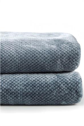 "Kentia μονή κουβέρτα βελουτέ ""Βella 01""  160x240 cm"