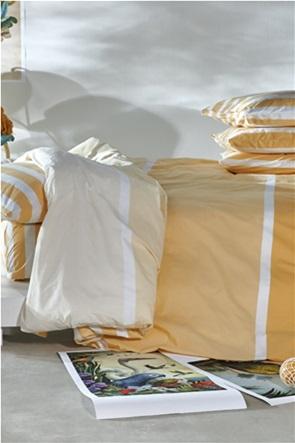 "Kentia σετ σεντόνια υπέρδιπλα με ριγέ σχέδιο ""Pantone 0625"" (4 τεμάχια)"