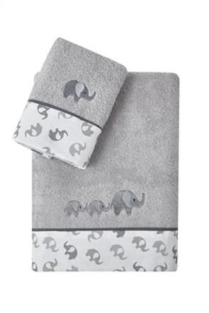 "Kentia σετ παιδικές πετσέτες με κεντημένο σχέδιο ελεφαντάκι ""Scott"" (2 τεμάχια)"