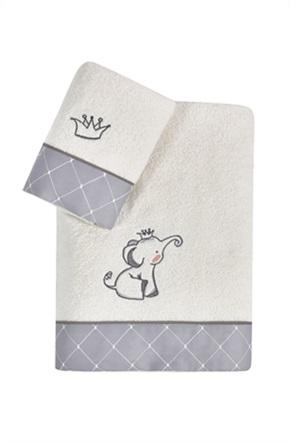 "Kentia σετ παιδικές πετσέτες με κεντημένο σχέδιο ""Dumbo"" (2 τεμάχια)"