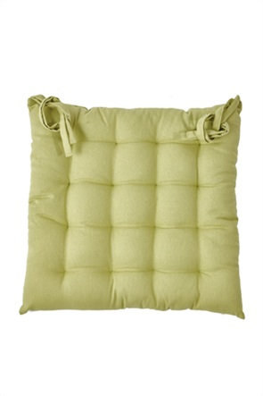 "Kentia μαξιλάρι καρέλκας μονόχρωμο ""Diego 10"" 40 x 40 x 5 cm"