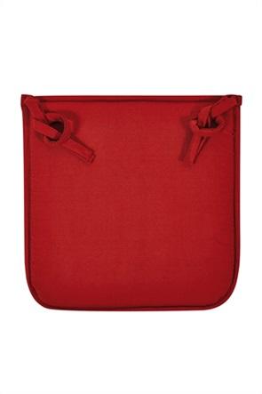"Kentia μαξιλάρι καρέλκας μονόχρωμο ""Foam Pl 05"" 40 x 40 x 3 cm"