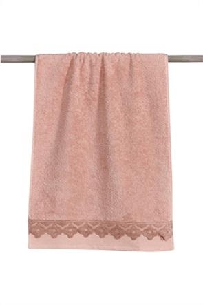 Kentia σετ πετσέτες μπάνιου με κεντημένο σχέδιο ''Adele'' (3 τεμάχια)