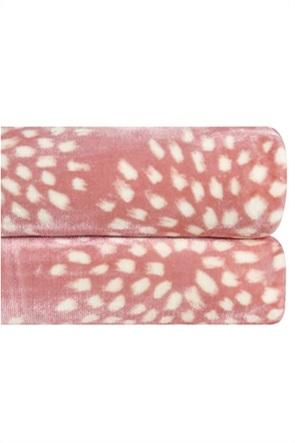 """Kentia κουβέρτα υπέρδιπλη με σχέδιο """"Skylar 14"""" 220 x 240 cm"""