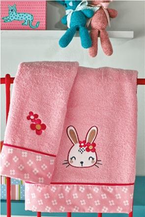 "Kentia σετ παιδικές πετσέτες μπάνιου με graphic print στο τελείωμα ""Honey"" (2 τεμάχια)"