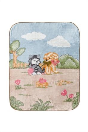 """Kentia βρεφική κουβέρτα κούνιας """"Kelvin"""" 110 x 140 cm"""