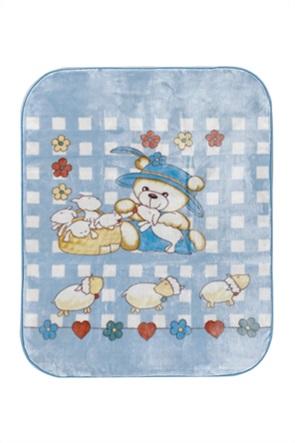 """Kentia βρεφική κουβέρτα κούνιας """"Axel"""" 110 x 140 cm"""