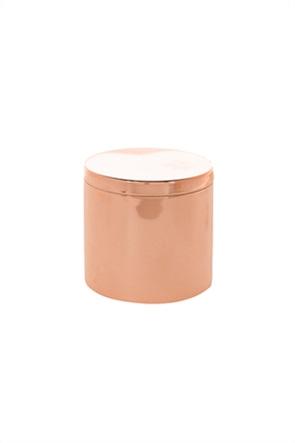 Coincasa μεταλλικό δοχείο με καπάκι 8 cm