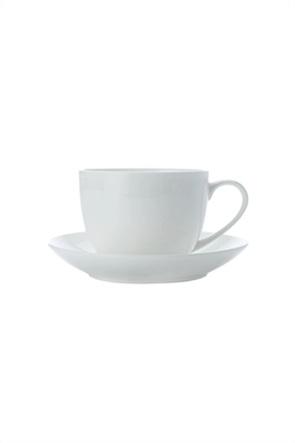 Maxwell & Williams σετ φλυτζάνι του τσαγιού/καφέ με χερούλι και πιατάκι 230 ml