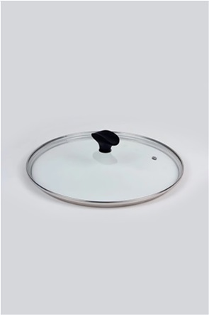 Cook-Shop καπάκι στρογγυλό γυάλινο 28 cm